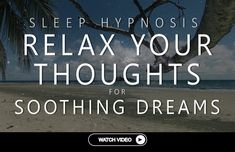 Sleep Hypnosis Thought Relaxation For Soothing Dreams (Guided Meditation Over-Thinking Anxiety) Over Thinking Anxiety, Lucid Dreaming, Dreaming Of You, Inner Smile, Dream Guide, Breath In Breath Out, It's Meant To Be, Good Sleep, Guided Meditation