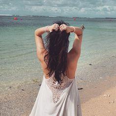 Shooting on the beautiful Bali beach #AnnieHaak
