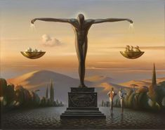 Tutt'Art@ | Pittura * Scultura * Poesia * Musica |: Vladimir Kush, 1965 ~ The Surreal landscapes