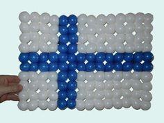 Finland flag Balloon Weaving