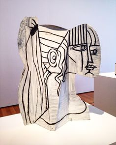 Picasso's sculptures at MoMa, NYC, Pablo Picasso  : More At FOSTERGINGER At Pinterest ♍️Pablo Picasso,