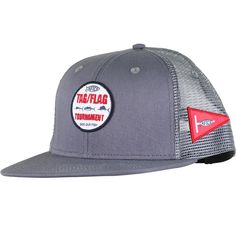 e7c13e54323 Tag Fishing Trucker hat represents AFTCO s president Bill Shedd whom  started the Tag Flag Tournament hoping to