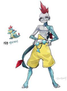 An Artist Drew Pokémon as People and These Definitely Need Their Own Manga…