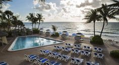 Ocean Sky Hotel & Resort Fort Lauderdale Located directly on the beach and only 3 minutes' drive from the bars and restaurants of Lauderdale-by-the-Sea, this hotel features guest rooms furnished with private balconies.