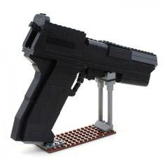Desert Eagle Handgun - Lego Compatible