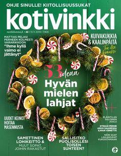 Salmiakkihimmeli | Meillä kotona Christmas Wreaths, Christmas Ornaments, Holiday Decor, Christmas Jewelry, Christmas Decorations, Christmas Decor