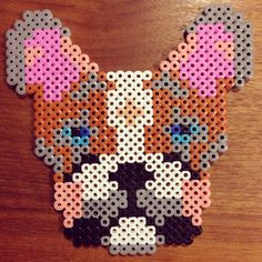 Dog hama beads by sorenrohde