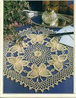 Free Crochet Patterns: butterfly