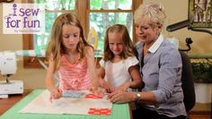 PBS TV host, Nancy Zieman of Sewing With Nancy shares her casual and easy approach to teaching kids to sew for fun. Learn and share sewing with youth in your life. Nancy Zieman, Tim Holtz, Pbs Tv, Sewing With Nancy, Popular Crafts, Sewing Stitches, Sewing Art, Teaching Kids, Sewing Projects