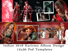 Psd New Wedding Album Design 2019 Wedding Album Cover, Wedding Album Layout, Wedding Collage, Polaroid Photo Album, Album Photo, Wedding Photo Books, Wedding Photo Albums, Indian Engagement Photos, Marriage Photo Album