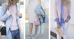 Rosa Quartz e Azul Serenity na moda | Danielle Noce