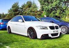 BMW E90 3 series white