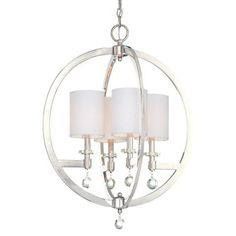 Buy the Metropolitan Polished Nickel Direct. Shop for the Metropolitan Polished Nickel 4 Light High Large Pendant from the Chadbourne Collection and save. Chandelier Shades, Pendant Chandelier, Modern Chandelier, Chandelier Lighting, Light Pendant, Chandeliers, Stairway Lighting, Simple Chandelier, Chandelier Ideas