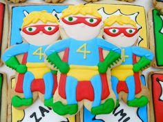 .Oh Sugar Events: Super Owen's Birthday Treats