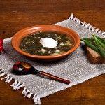 яичница со шпинатом рецепт с фото