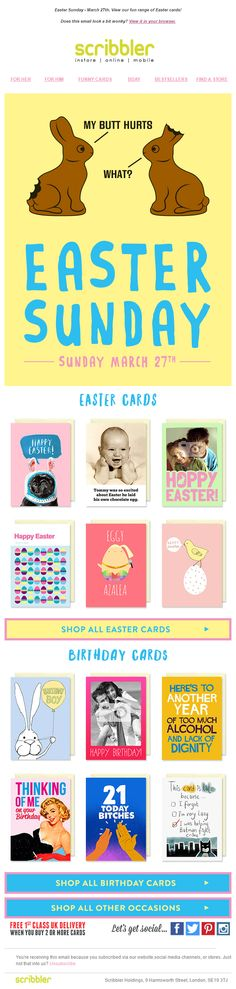 Easter email from notonthehighstreet emailmarketing email easter email from notonthehighstreet emailmarketing email marketing gifts easter easter emails pinterest negle Gallery