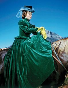 side saddle attire