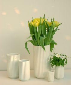 lyngby vase - danish design - disse ku jeg godt tænke mig i forskellige str.