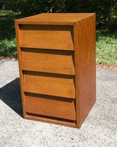 Small Timber Chest Of Drawers