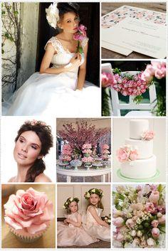 Inspirações: rosa, verde e branco | Constance Zahn - Blog de casamento para noivas antenadas.