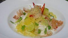 Khanom Jeen Sao naam Saparot nennt sich dieses leckere thailändische Gericht. Mehr Rezepte und Details zu Songkran, dem thailändischen Neujahr, finden Sie auf kurier.at