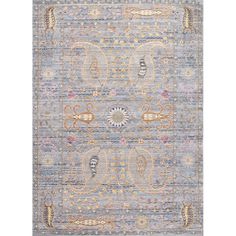 Grey Rectangular: 7 Ft. 10 In. X 10 Ft. 10 In. Nuloom Area Rugs Rugs Home Decor