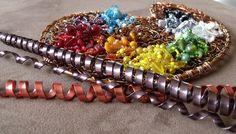 La palette du peintre revisitée par une créatrice de bijoux, Virginie Buron