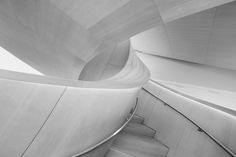Twist - Wooden staircase of Art Gallery of Ontario, Toronto,