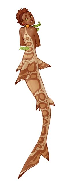 Shark Mermaid by Aviator33.deviantart.com on @deviantART