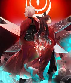 Fate/Stay Night - Tohsaka Rin & Archer