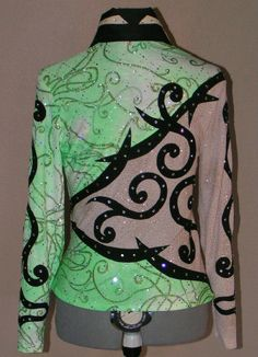 Horse Tack, Show Horses, Riding Clothes, Lime, Outfits, Tops, Clothing, Green, Products