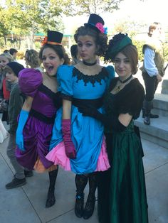 Stepsisters and stepmother