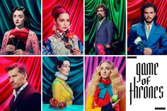 Game of Thrones Stars — Time Magazine 2017 — Showbiz