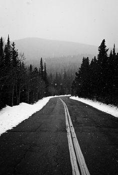 Snowy Road Trips
