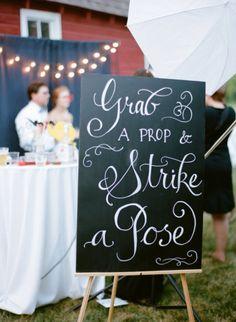 style me pretty - real wedding - usa - minnesota - new ulm wedding - morgan creek vineyards - photo booth prop Wedding Signs, Diy Wedding, Wedding Reception, Wedding Photos, Dream Wedding, Wedding Day, Wedding Stuff, French Wedding, Wedding 2015