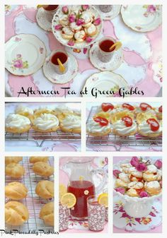 Pink Piccadilly Pastries: Plum Puffs and Raspberry Cordial for an Anne of Green Gables Tea