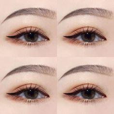 Makeup korean eyeliner 37 New Ideas Make-up Korean Eyeliner 37 Neue Ideen Korean Makeup Look, Korean Makeup Tips, Korean Makeup Tutorials, Eye Makeup Tips, Makeup Inspo, Makeup Inspiration, Makeup Ideas, Korean Makeup Tutorial Natural, Beauty Makeup