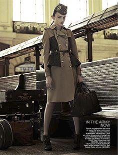 waiting on the train / the passenger: olesya senchenko by joshua jordan for be no.127 31st august 2012