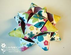 """Paper Bows from Flowerbug's Inkspot-8 pieces 1"""" x 51/2"""" dbl-sided dsp--5 pieces1"""" x 41/2"""" same paper -- 1 piece 1"""" x 1"""" square for back -- 1 large brad"""