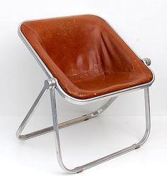 Gian Carlo Piretti, Plona aluminium folding-chair  for Anonima Castelli, 1972.