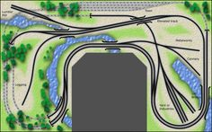 The White River and Northern Model Railroad: Track Plans for Other People http://whiteriverandnorthern.net/plan-17.htm