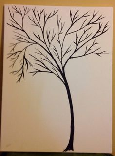 The Family Tree (nontraditional guestbook)