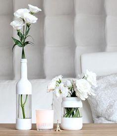 Koel verfidee voor doe-het-vaas in het wit - #doehetvaas #het #Koel #verfidee #voor #Wit