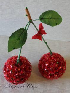 Gallery.ru / Фото #16 - Ягоды, фрукты из конфет - pinata-kr
