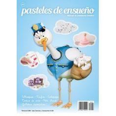 Número 6 de la revista Pasteles de Ensueño, ya disponible en nuestra tienda online - El Dulce de Pau #revistapastelesdeensueno #pastelesdeensueno #revistareposteria