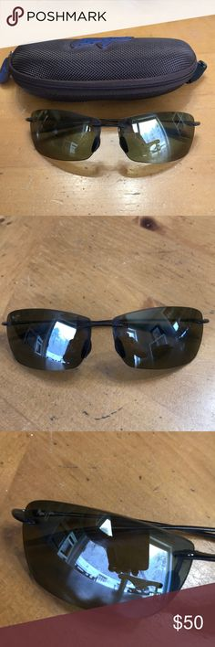 Maui Jim Sport Lighthouse with case These are a few years old in decent condition but have scratches on the lenses and wear and tear. Still great polarized frame! Tried to take pics of the lenses so zoom in if possible. Maui Jim Accessories Sunglasses