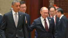 It comes as no surprise that the interaction between Russian President Vladimir Putin and Barack Obama was less then warm in their first meeting since June.