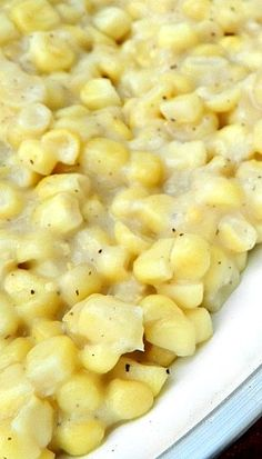 Southern Skillet Corn- total comfort food made with fresh corn, this dish is the best! Corn Recipes, Side Dish Recipes, Veggie Recipes, Dinner Recipes, Cooking Recipes, Recipies, Southern Dishes, Southern Recipes, Southern Food