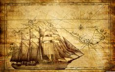 Creative Art Vintage Map Canvas Prints Adventure Ocean Sailing Map Poster Art Print Canvas Framed for Living Room Decor Kids Study Room Ready to Hang * Continue to the product at the image link. (This is an affiliate link) Pirate Maps, 3d Wall Murals, Wall Art, Art Vintage, Vintage Style, Vintage Canvas, Retro Style, Vintage Prints, Vintage Photos