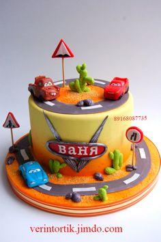 Дневник Вера СК (торты на заказ) (id823539) – BabyBlog.ru - стр. 7 10th Birthday, Birthday Parties, Birthday Cake, Mcqueen Cake, Fairy Cakes, Cakes For Boys, Disney Cars, Biscuits, Cake Decorating